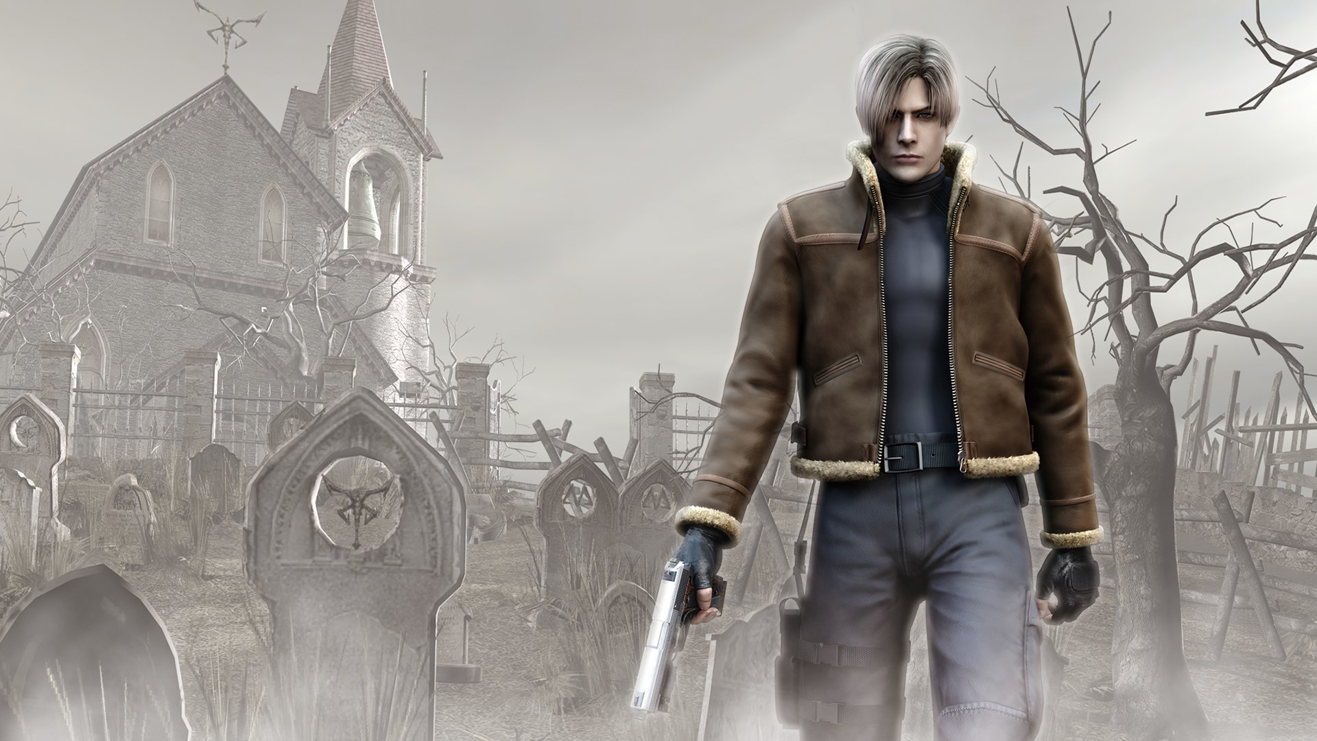 Resident Evil 4 Leon S Kennedy Wallpaper Hd Games 4k Wallpapers Images Photos And Background