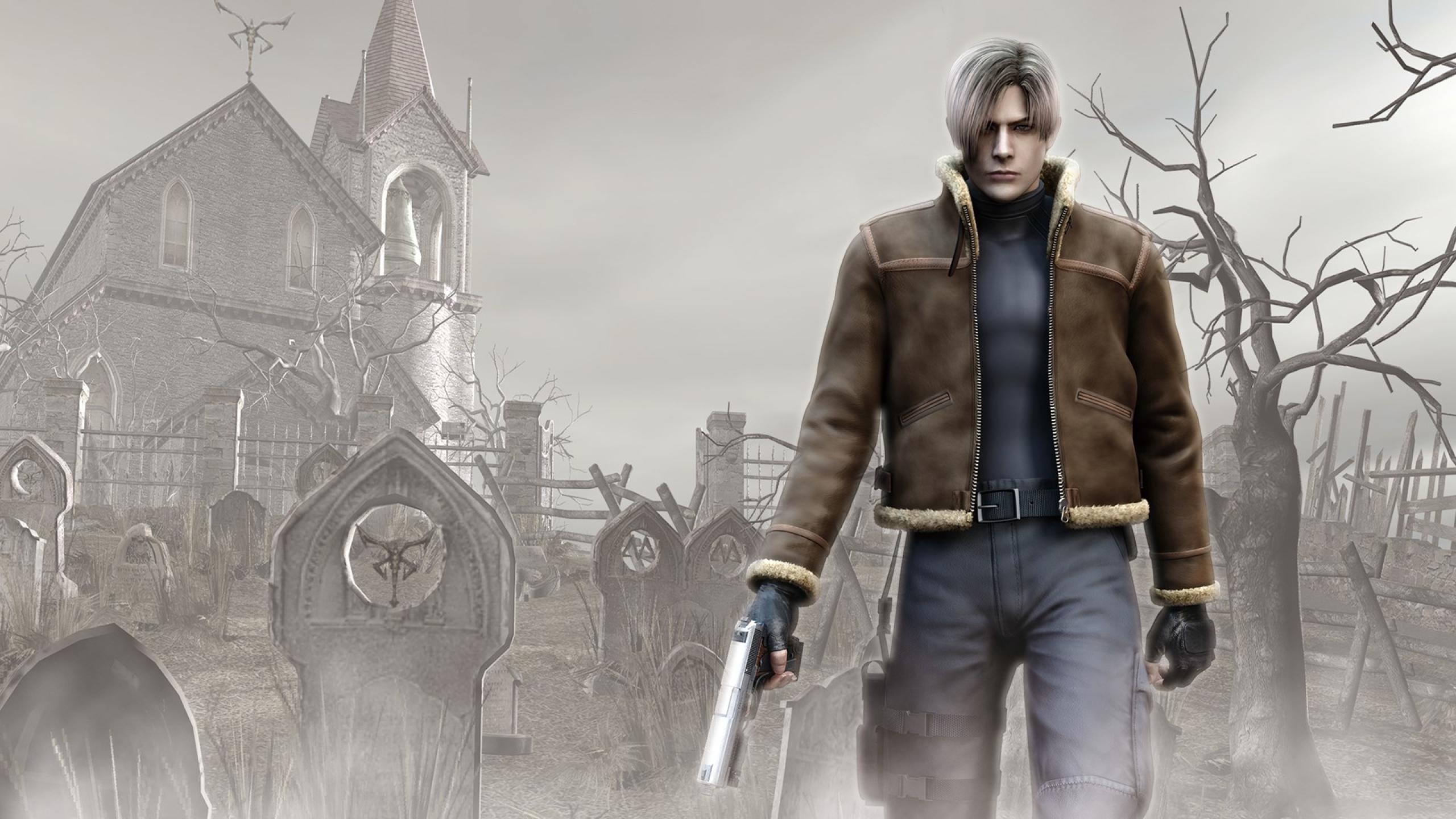 2560x1440 Resident Evil 4 Leon S Kennedy 1440p Resolution