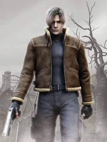 360x480 Resident Evil 4 Leon S Kennedy 360x480 Resolution