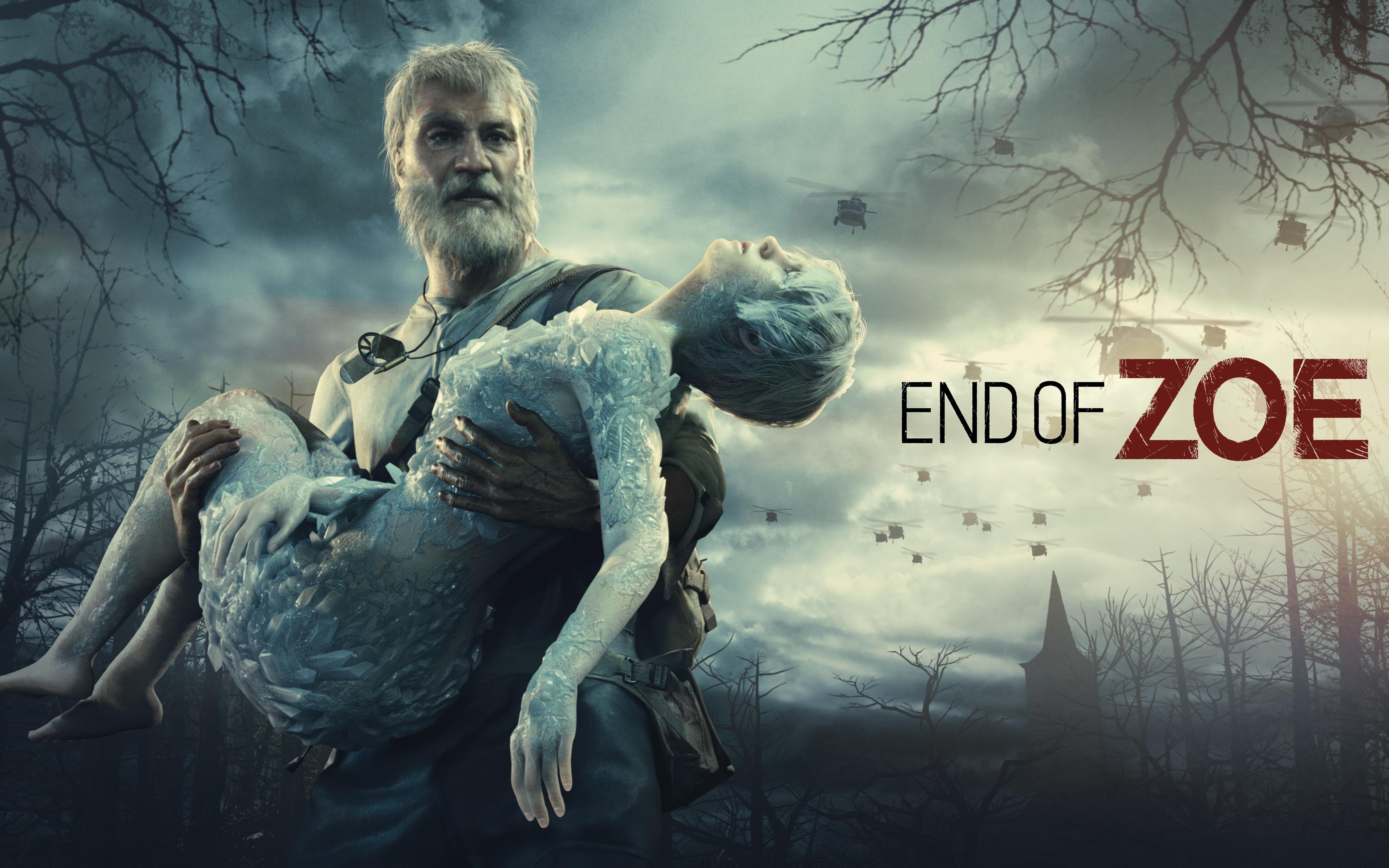 3840x2400 Resident Evil 7 Biohazard End Of Zoe 4k 3840x2400