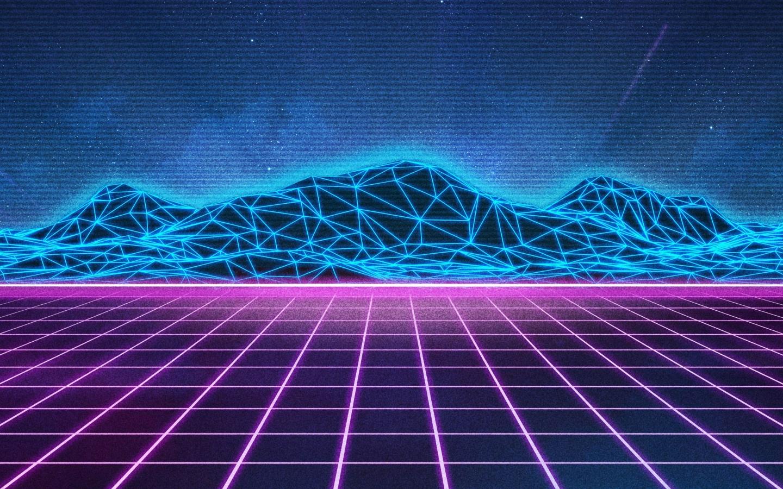 Retro Wave, HD 8K Wallpaper