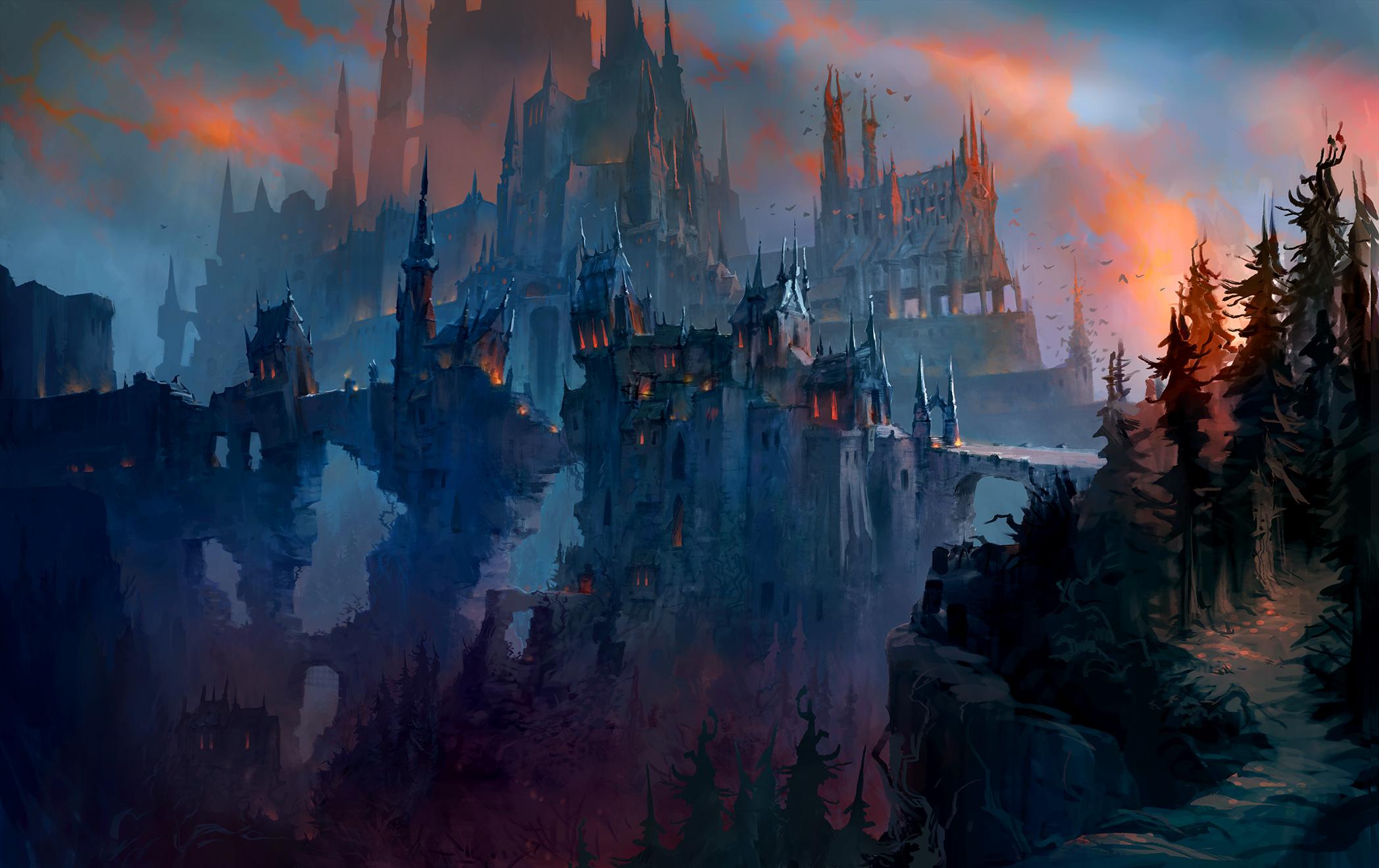 2560x1440 Revendreth Wow Shadowlands 1440p Resolution Wallpaper