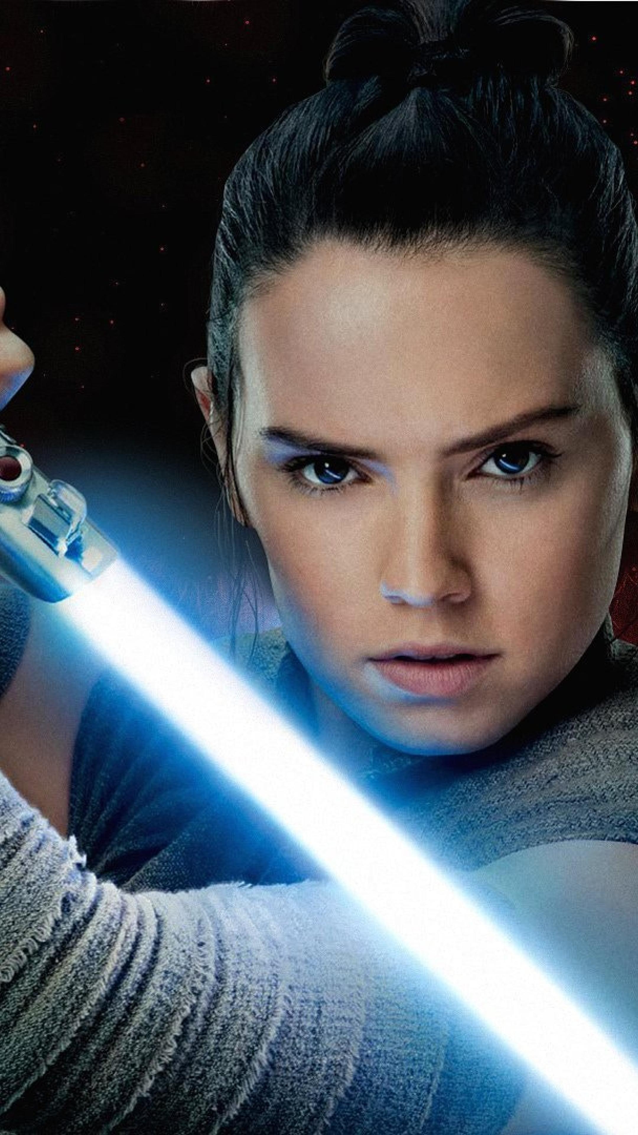 2160x3840 Rey Aka Daisy Ridley In Star Wars The Last Jedi Sony