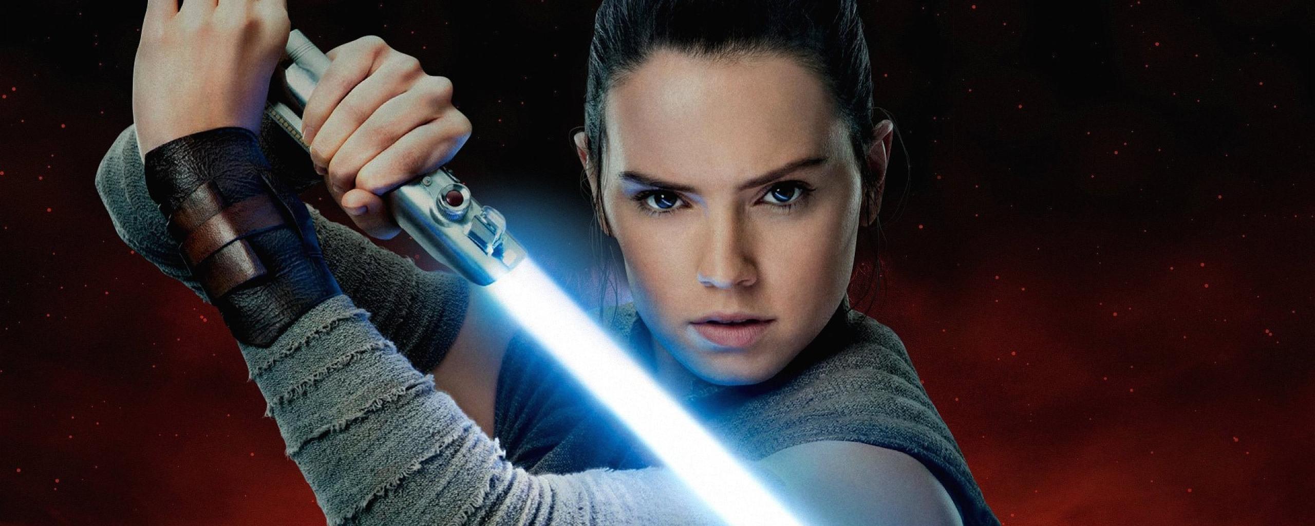 Rey Aka Daisy Ridley In Star Wars The Last Jedi, Full HD