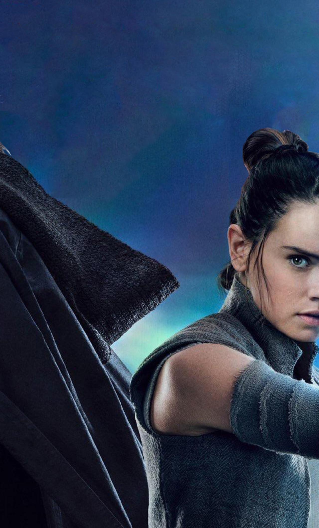 1280x2120 Rey And Luke Star Wars The Last Jedi Iphone 6 Plus