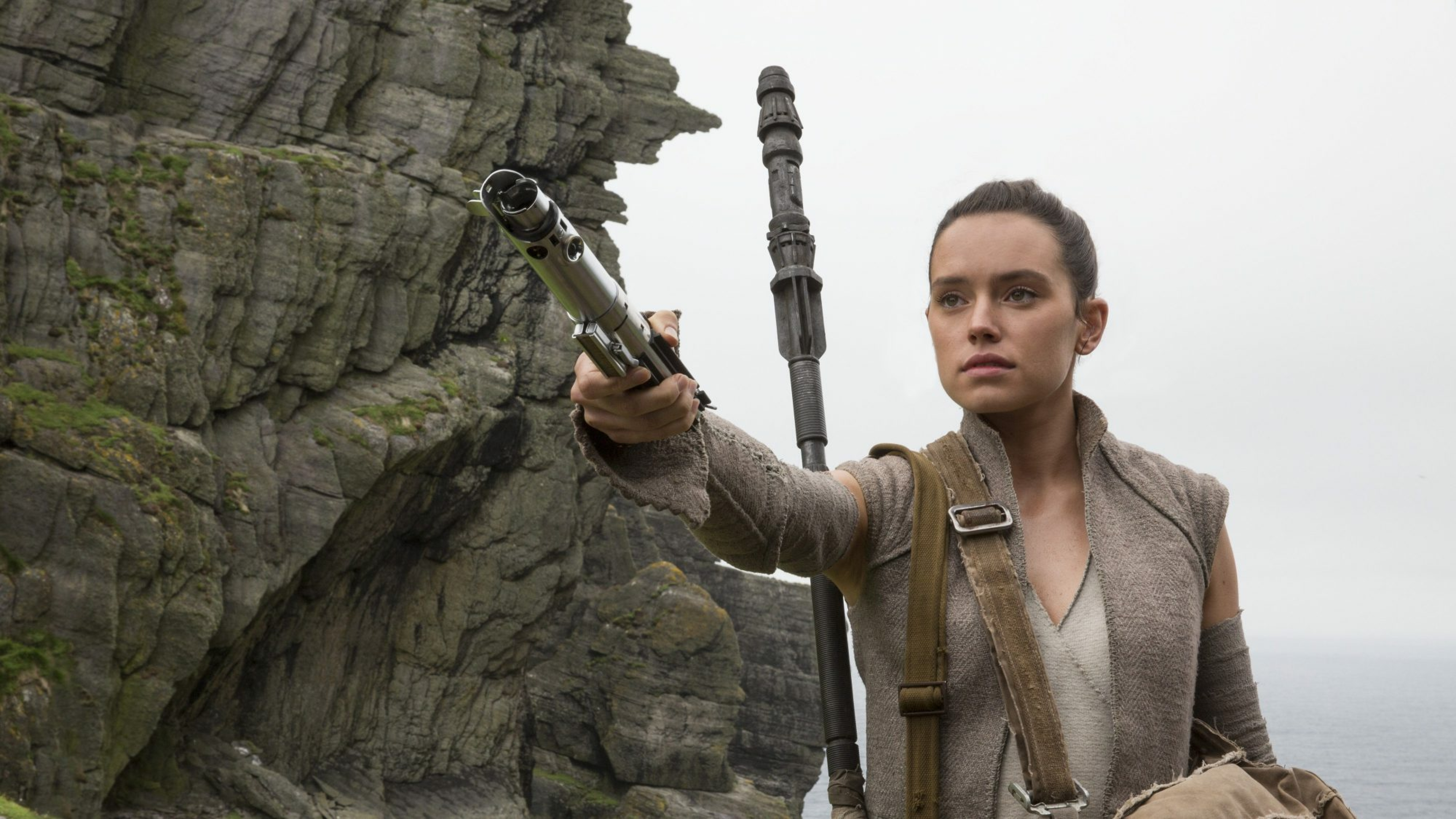 Rey In Star Wars 8 The Last Jedi, Full HD 2K Wallpaper