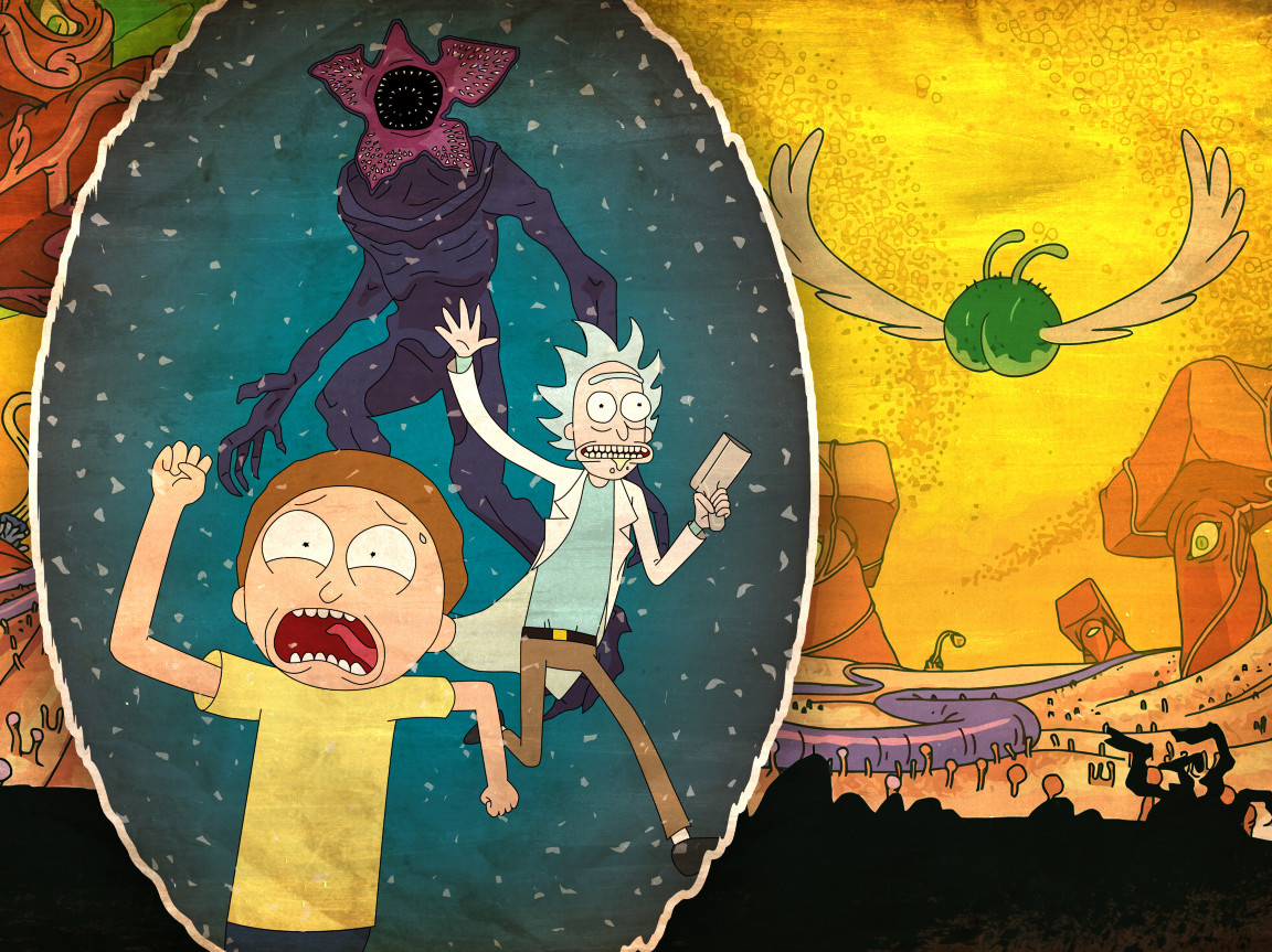 Rick and morty 2017 hd 4k wallpaper - Rick and morty download ...
