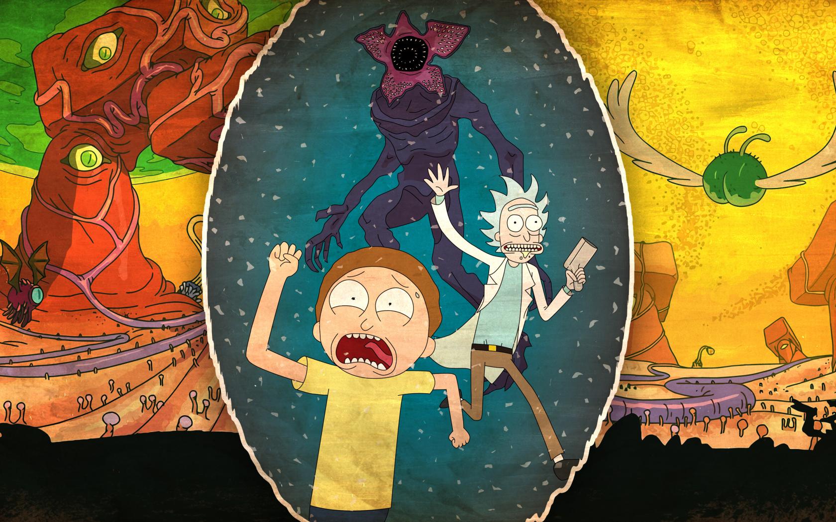 Rick And Morty 2017, HD 4K Wallpaper