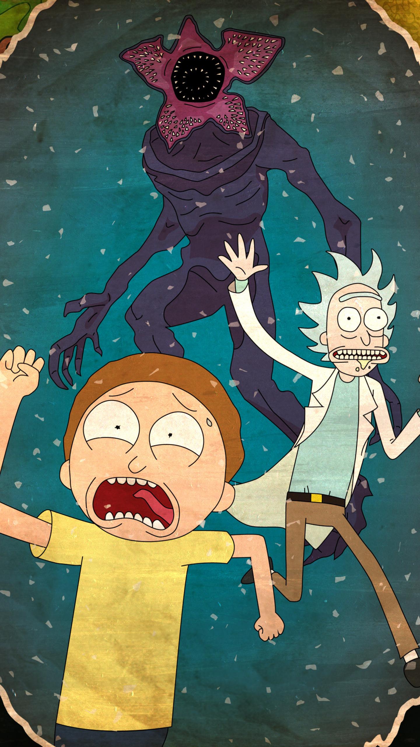 Rick And 1080p: Rick And Morty 2017, HD 4K Wallpaper