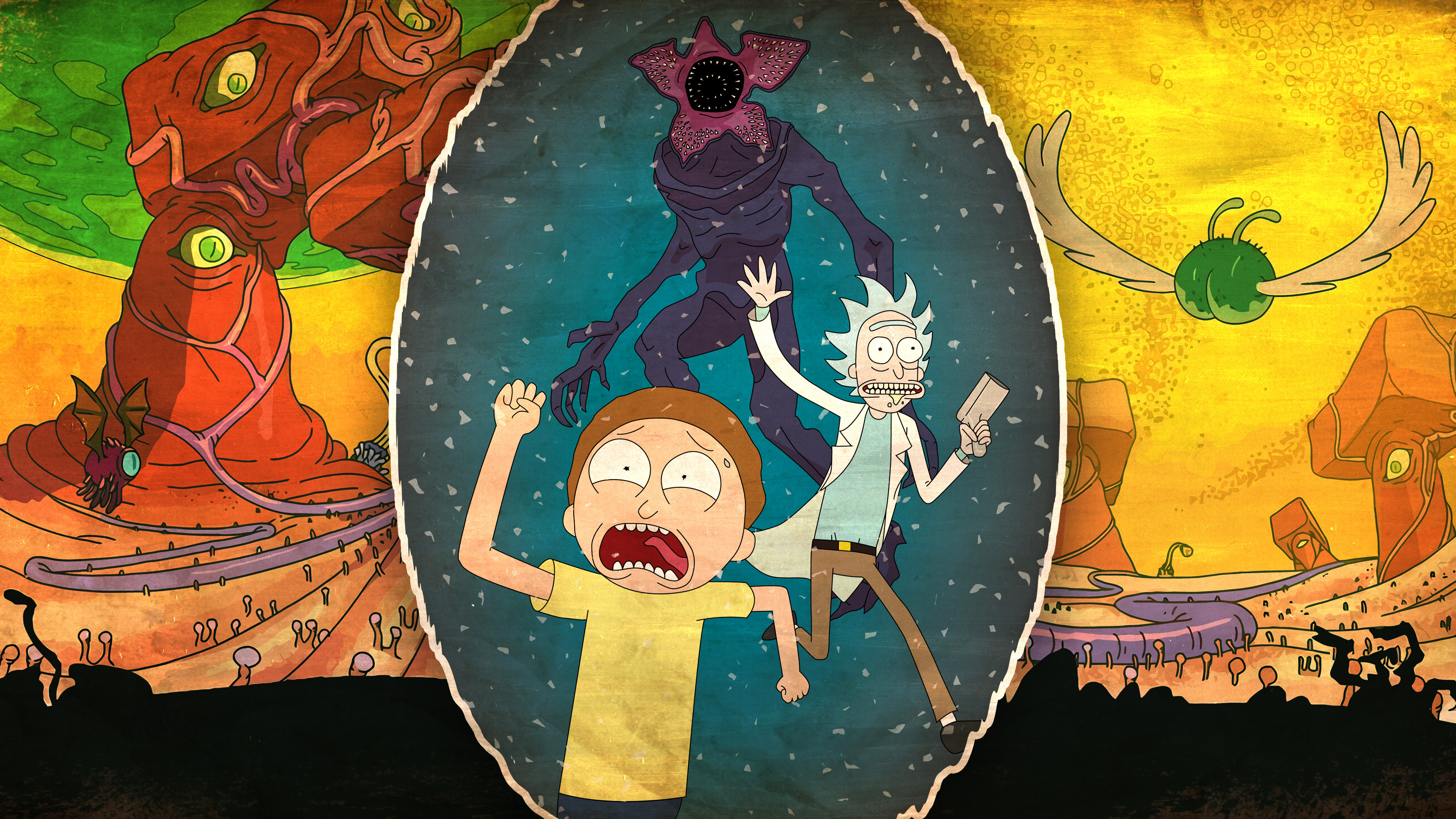 2560x1440 Rick And Morty 2017 1440p Resolution Wallpaper Hd