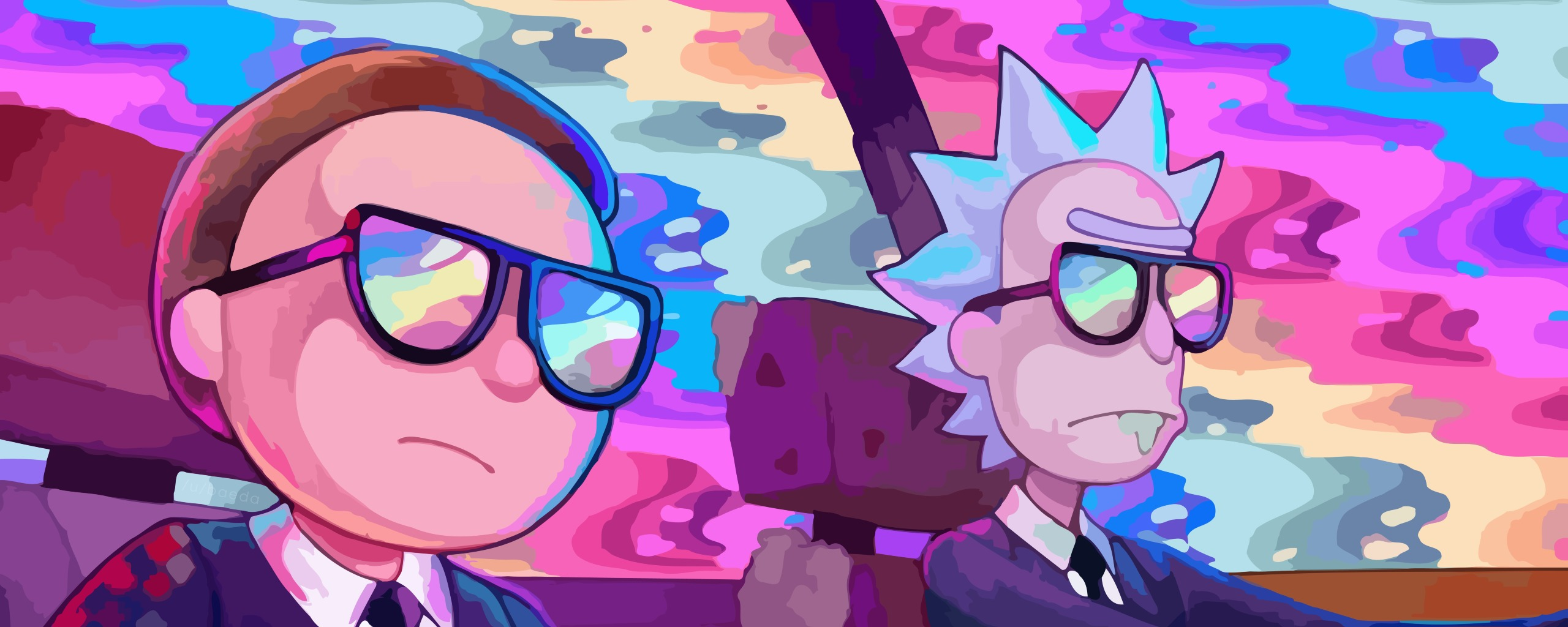 2560x1024 Rick and Morty Oh Mama Run The Jewels 2560x1024 ...