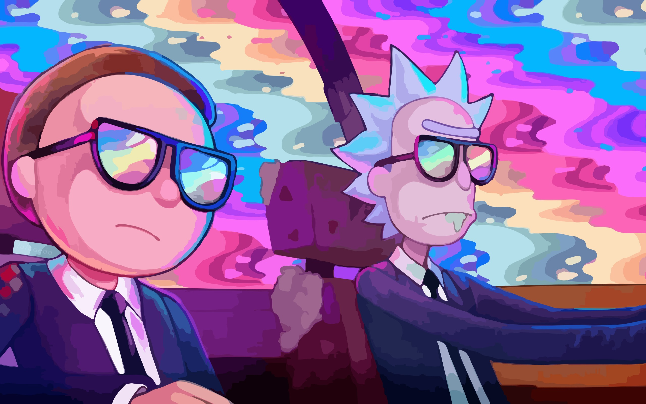 Rick And Morty Oh Mama Run The Jewels, HD 8K Wallpaper