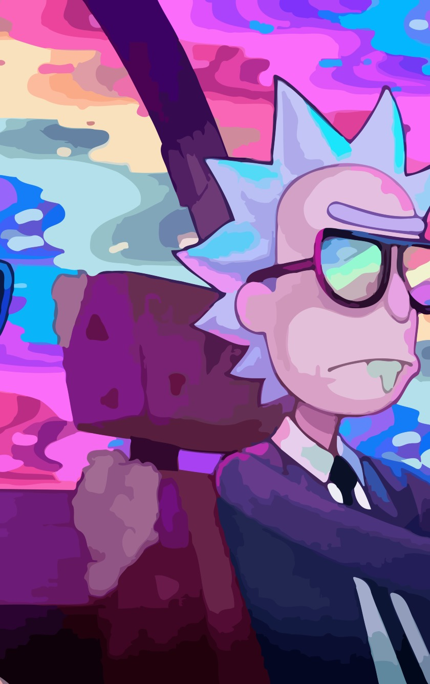 Download rick and morty oh mama run the jewels 1440x2560 resolution hd 8k wallpaper - Rick and morty download ...