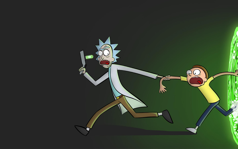2880x1800 Rick and Morty Portal Macbook Pro Retina ...