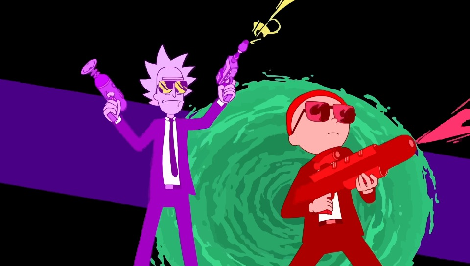 Rick and morty run the jewels art hd 8k wallpaper - Rick and morty download ...