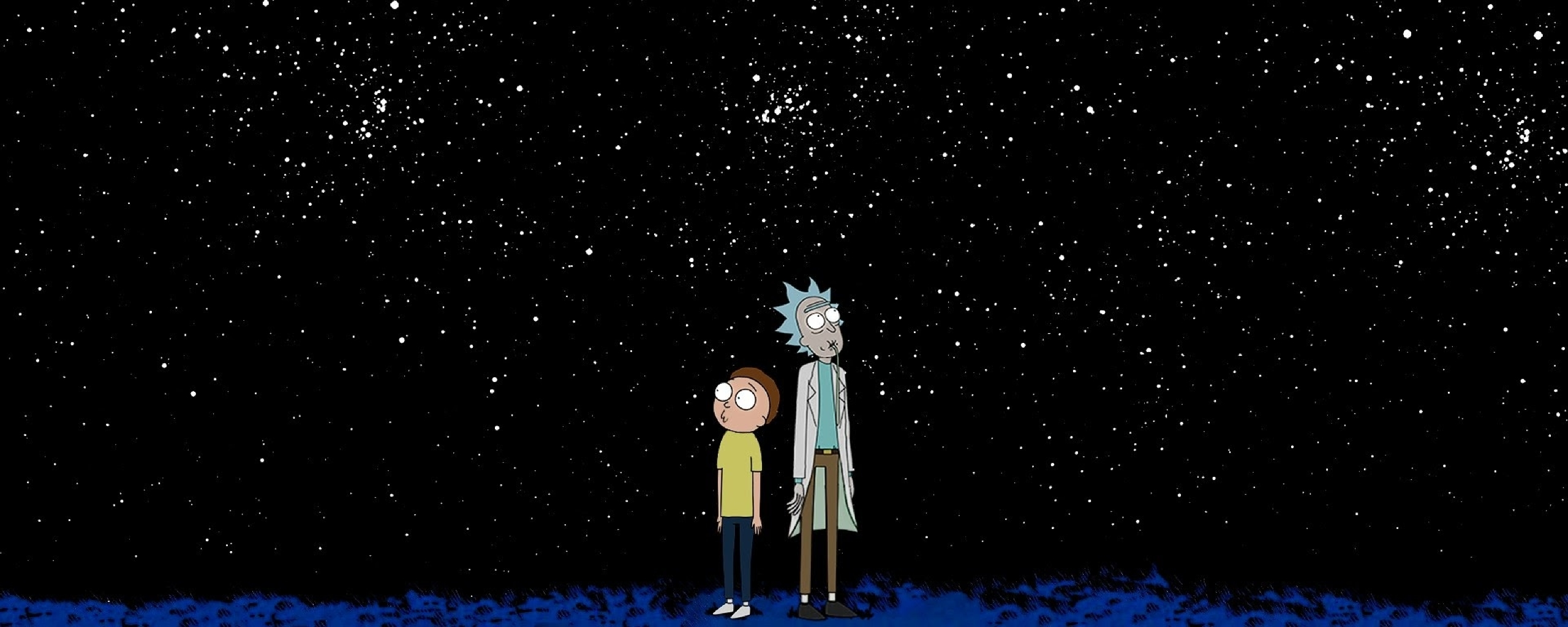 Rick And Morty Space, Full HD Wallpaper