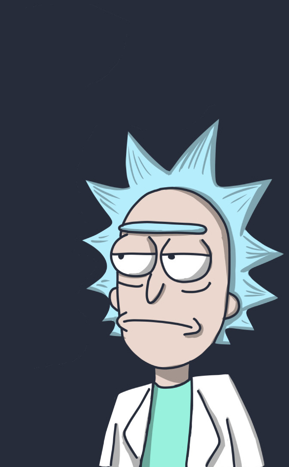 Rick In Rick And Morty Full Hd Wallpaper