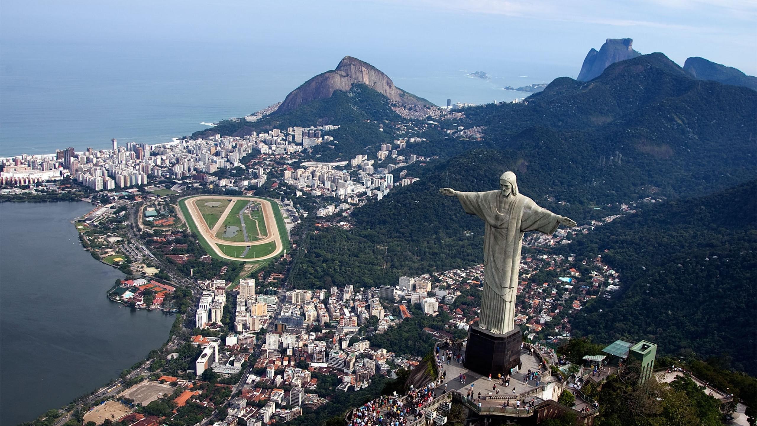 2560x1440 Rio De Janeiro Brazil City 1440p Resolution Wallpaper