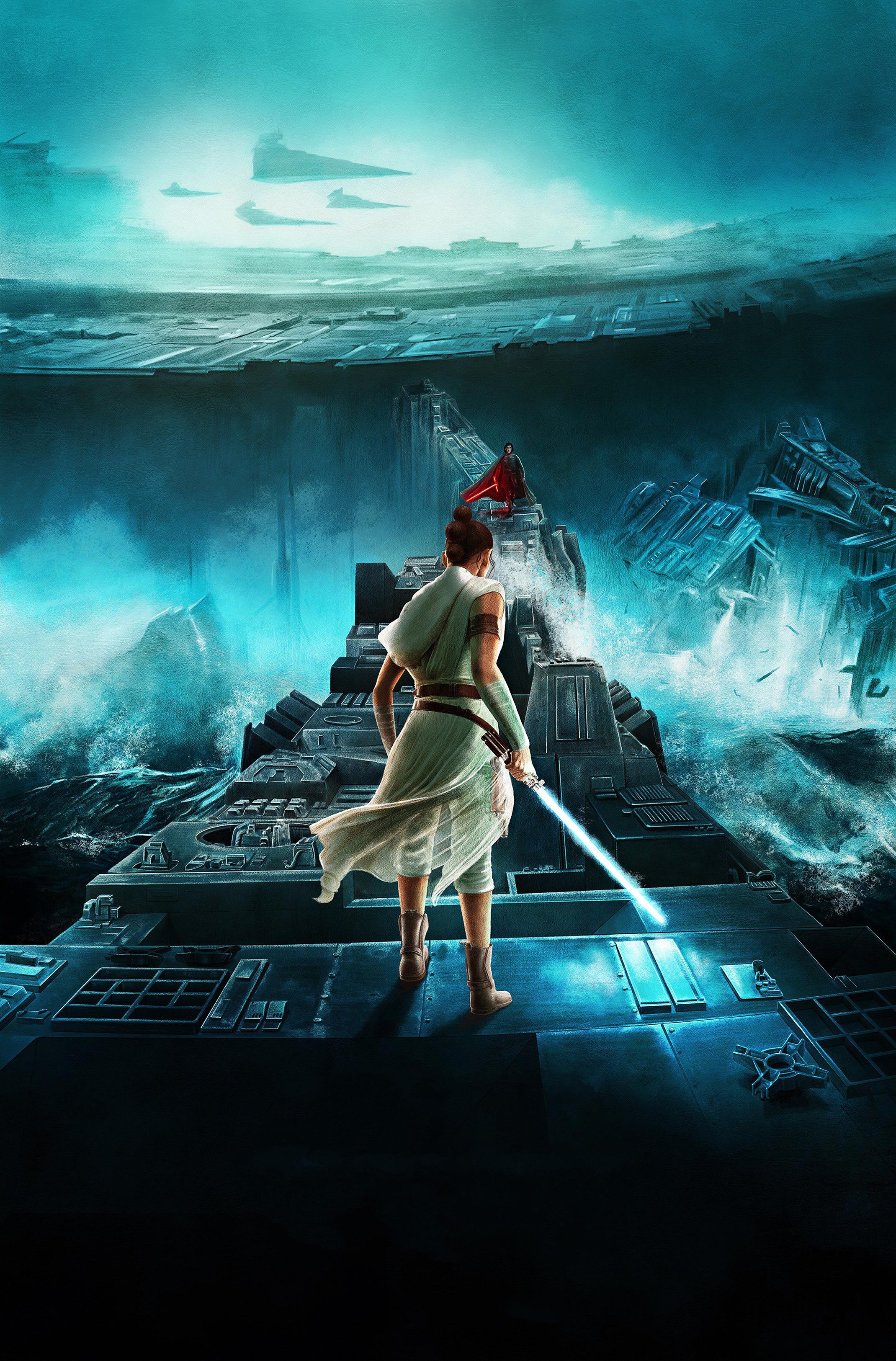 Rise Of Skywalker Star War Poster Wallpaper, HD Movies 4K ...