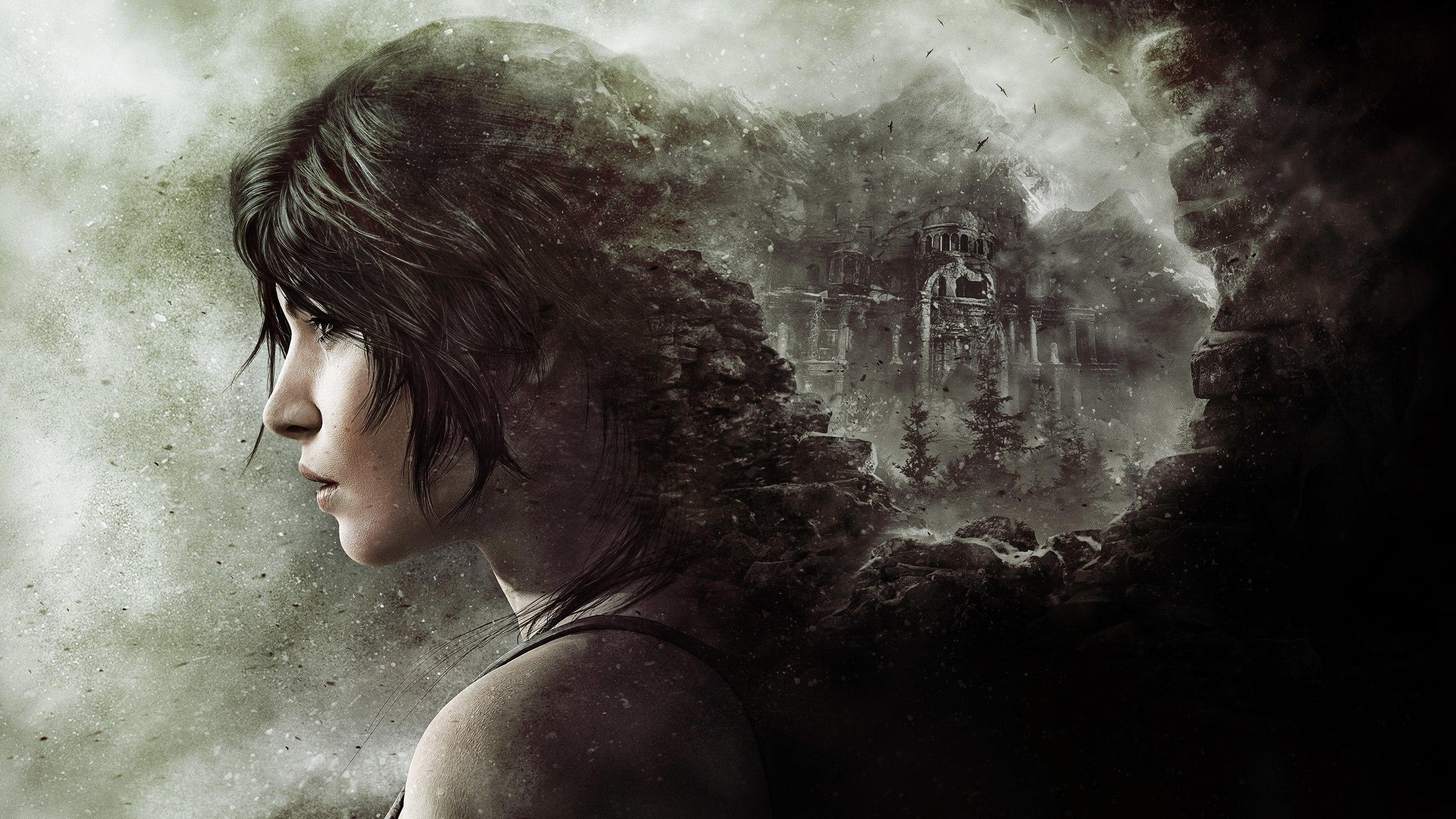 2560x1440 Rise Of The Tomb Raider Lara Croft Crystal