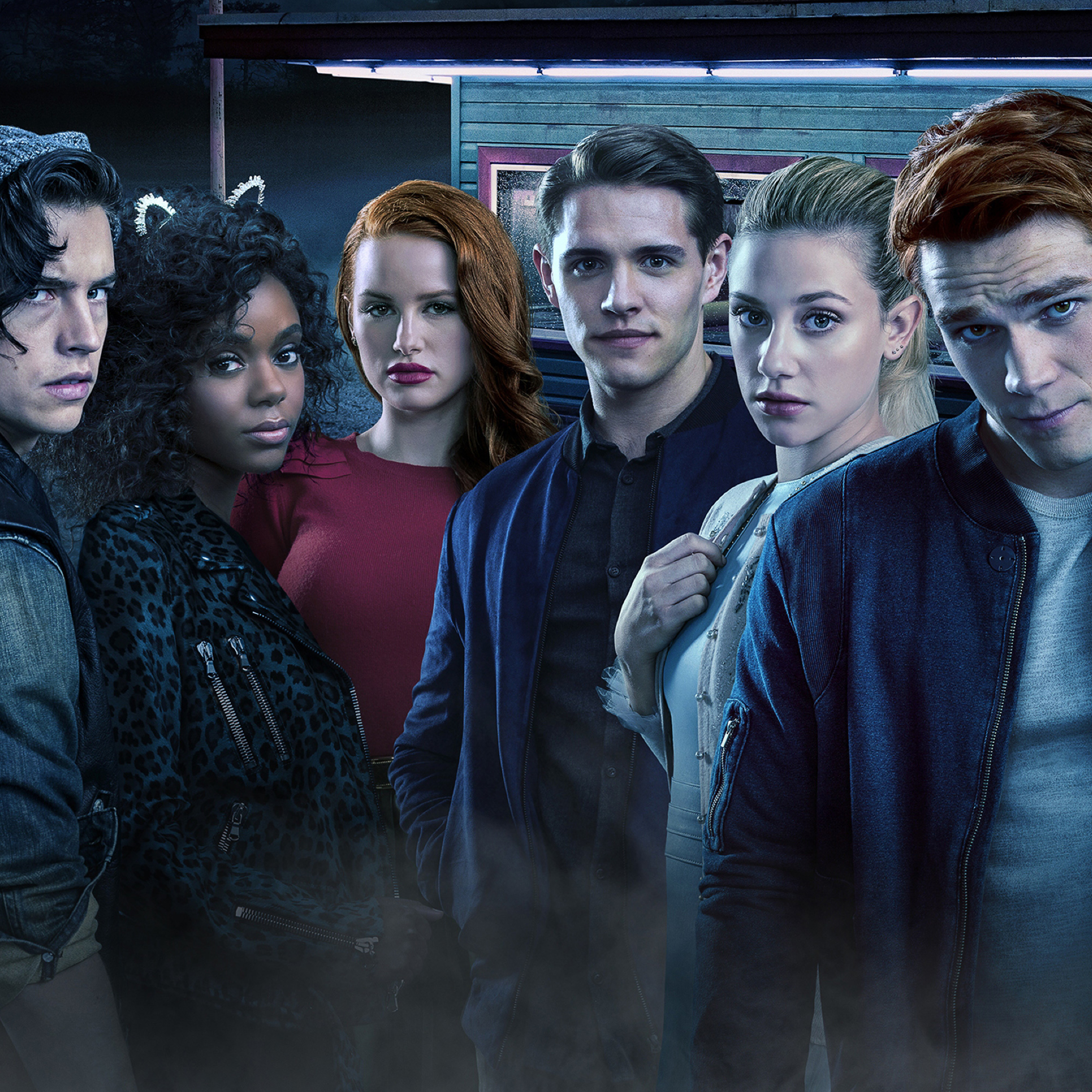 Riverdale Season 2 Cast, HD 4K Wallpaper