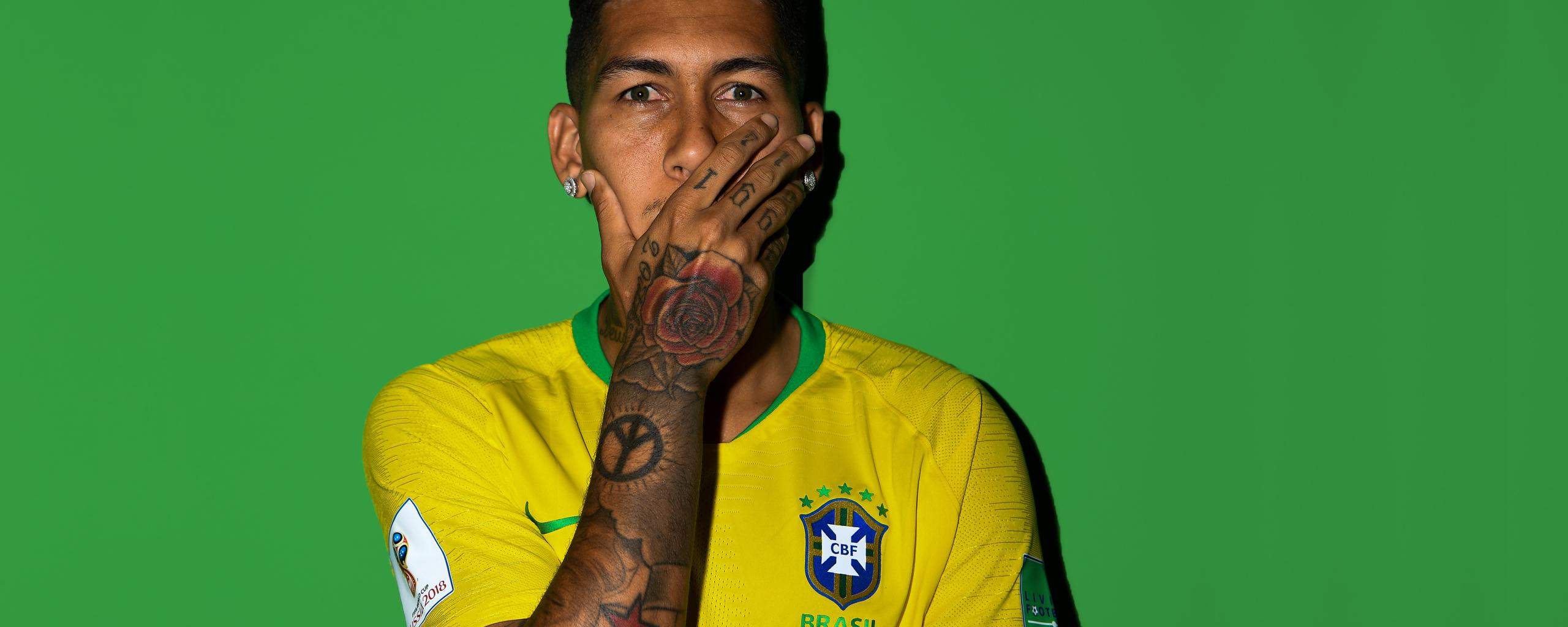 Download Roberto Firmino Fifa 2018 5120x2880 Resolution