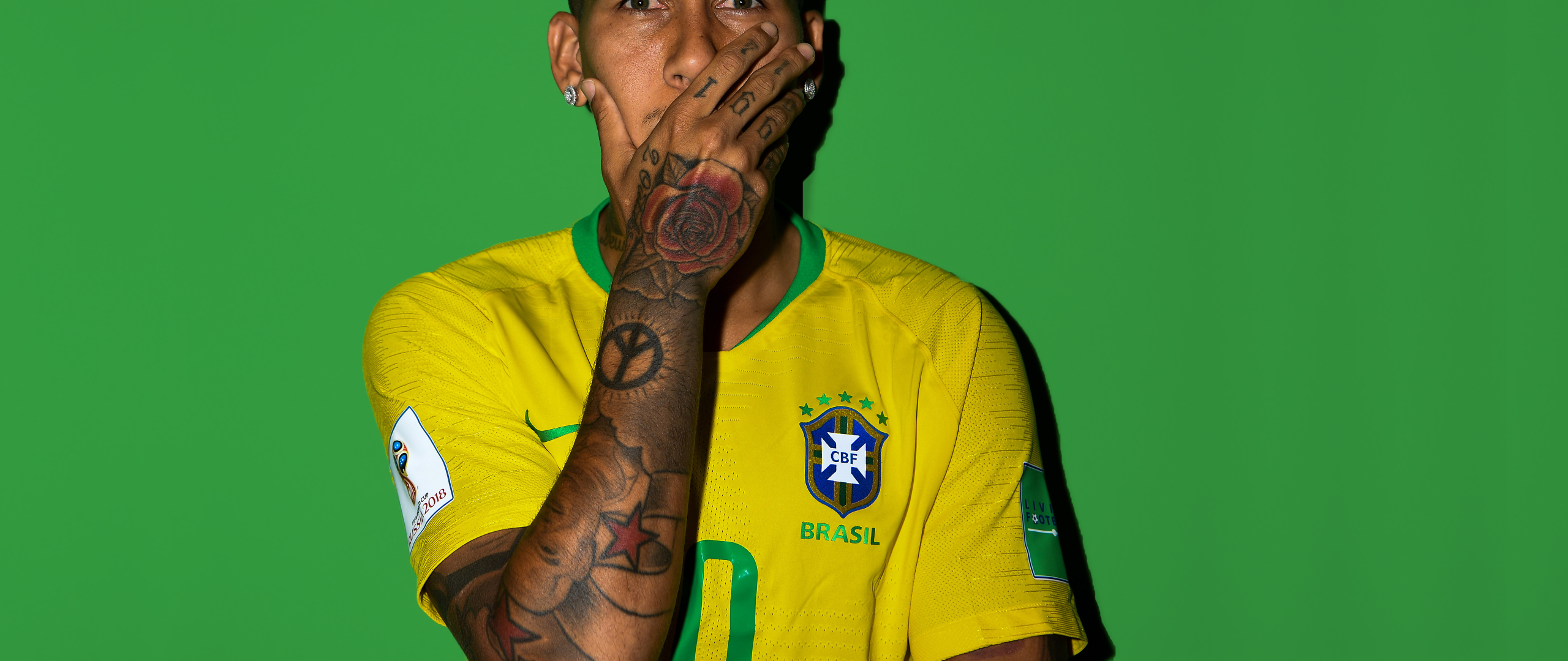 Download Roberto Firmino Fifa 2018 5120x2880 Resolution
