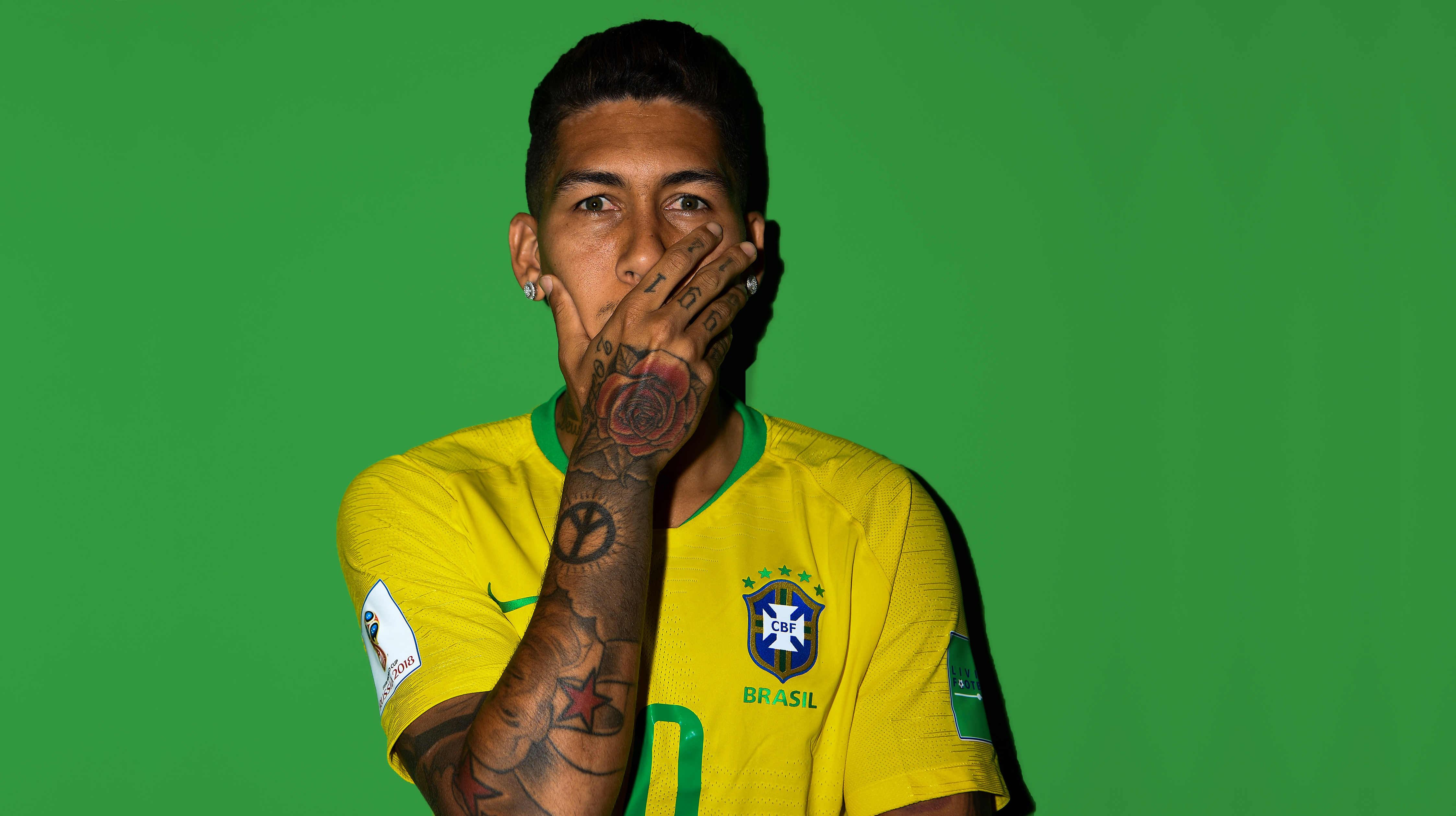 Roberto Firmino FIFA 2018 Wallpaper, HD Sports 4K