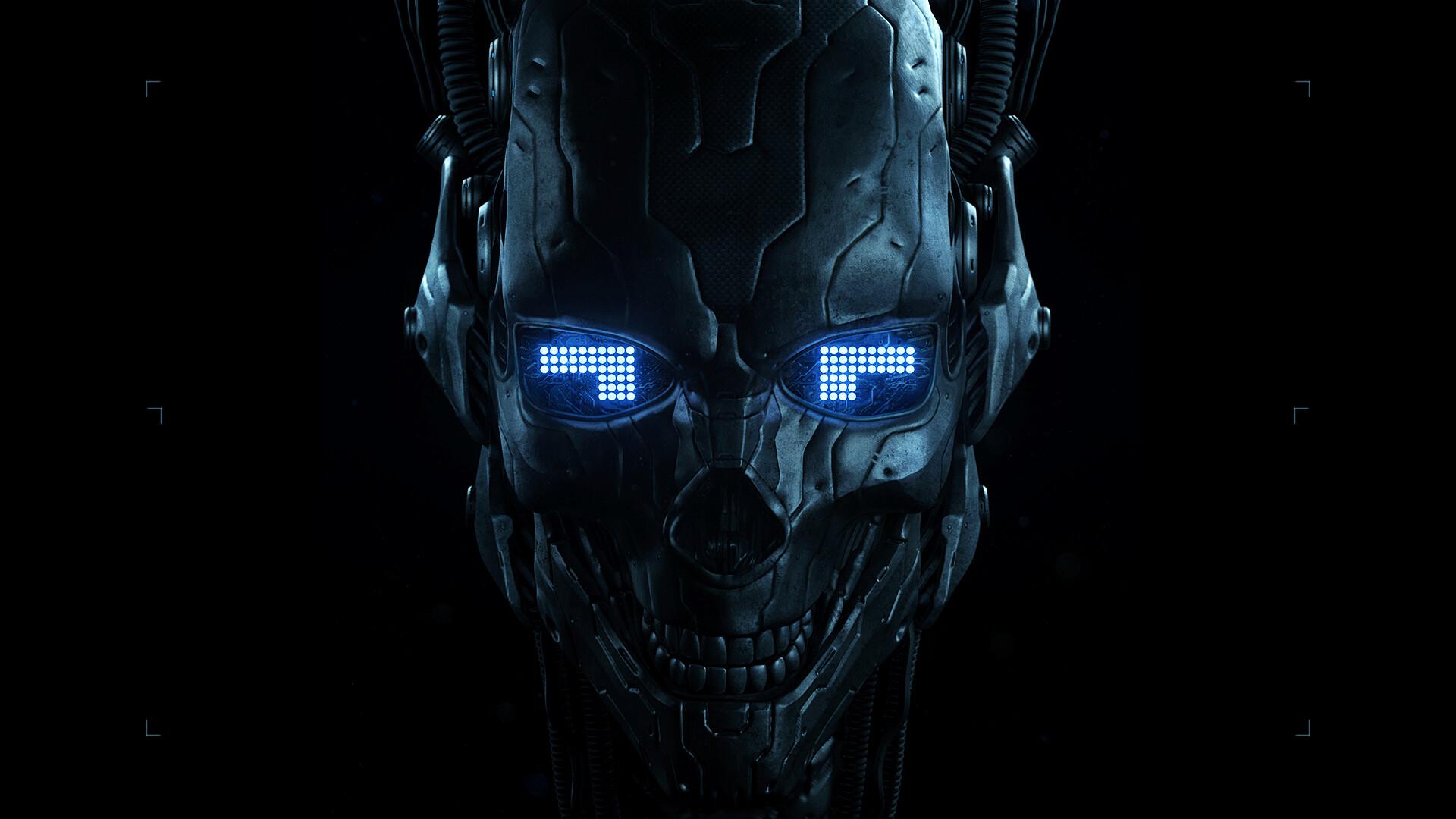 Robot Skull Wallpaper Hd Artist 4k Wallpapers Images