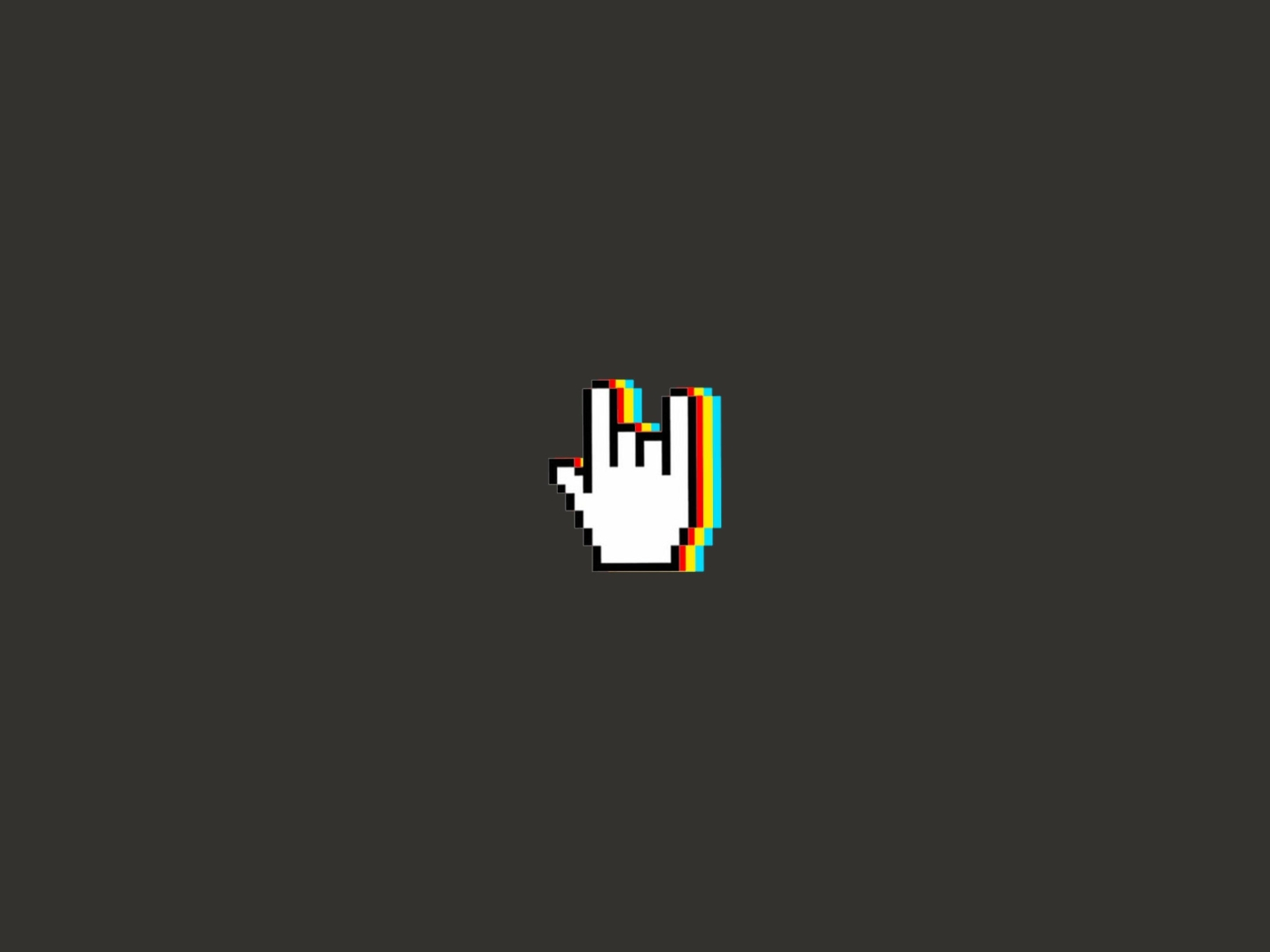 Rock And Roll Hand Gesture Minimal Hd 4k Wallpaper