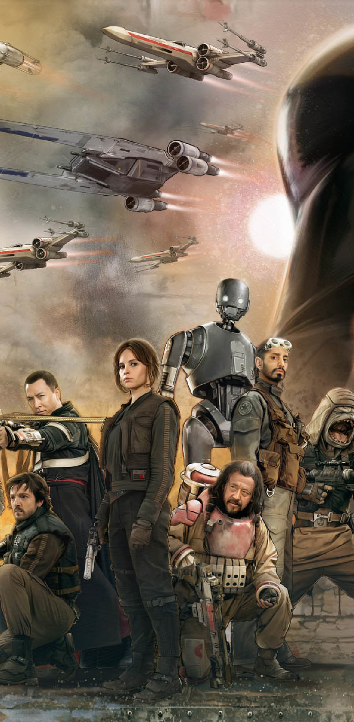 1176x2400 Rogue One A Star Wars Story 1176x2400 Resolution ...
