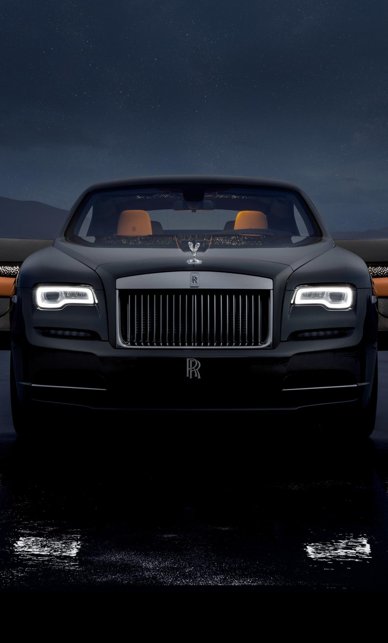 Rolls Royce Wraith Luminary Collection 2018, HD 4K Wallpaper