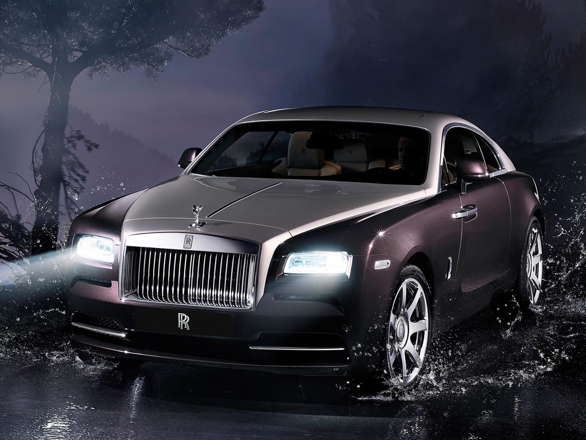 Rolls Royce Wraith 2013 Full HD 2K Wallpaper