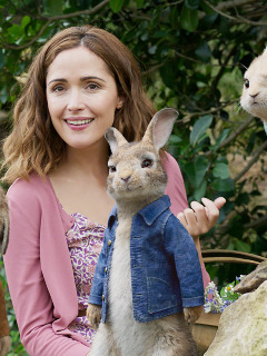 Download rose byrne in peter rabbit movie 1366x768 - Peter rabbit movie wallpaper ...