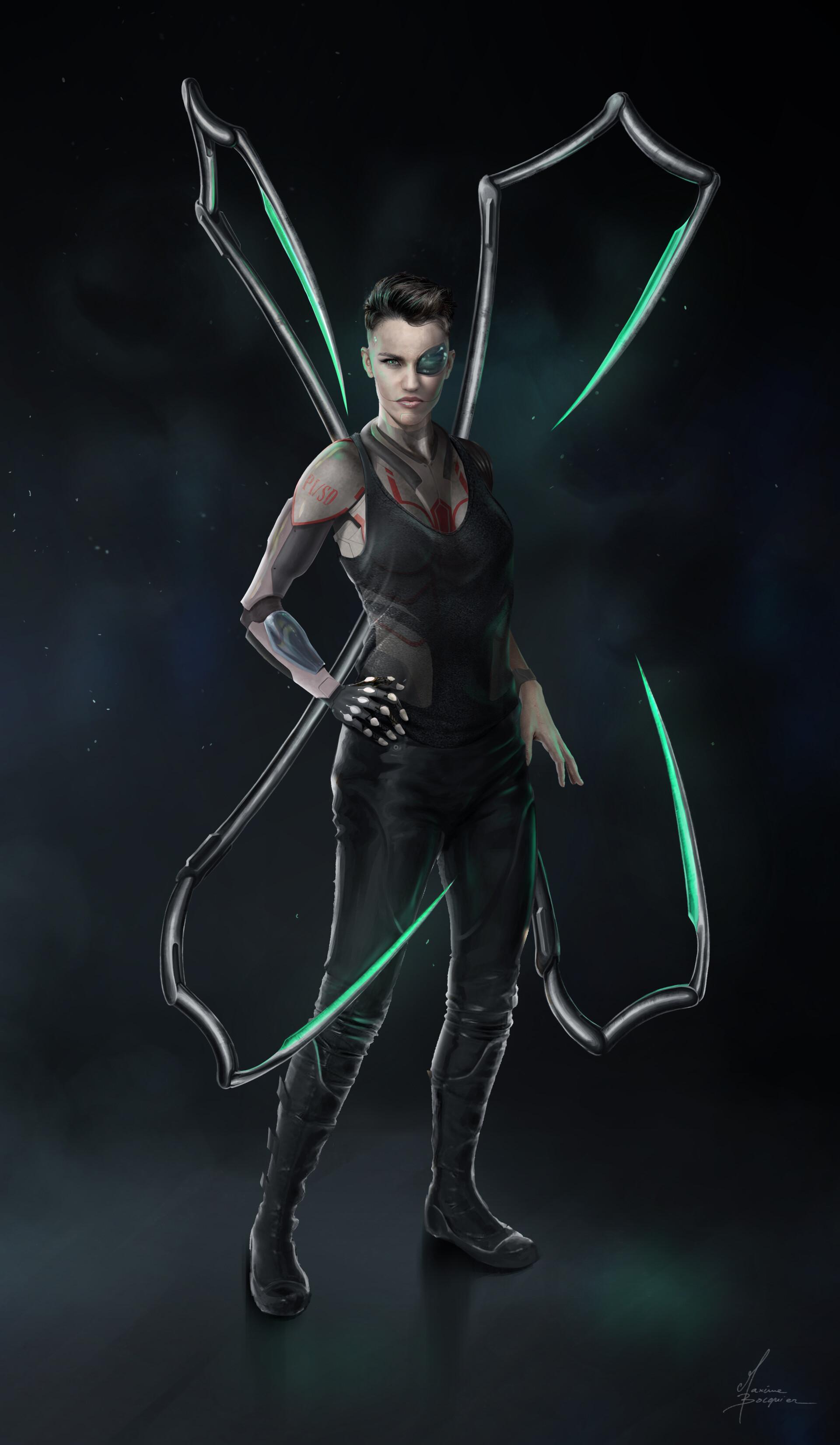 Ruby Rose As Cyberpunk Wallpaper Hd Artist 4k Wallpapers