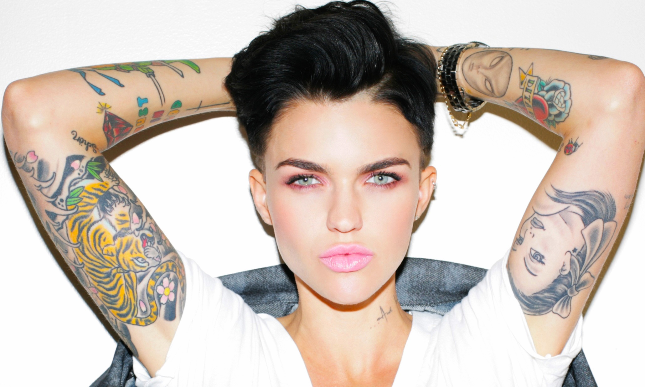 Ruby Rose Orange Is The New Black Actress Wallpaper Hd