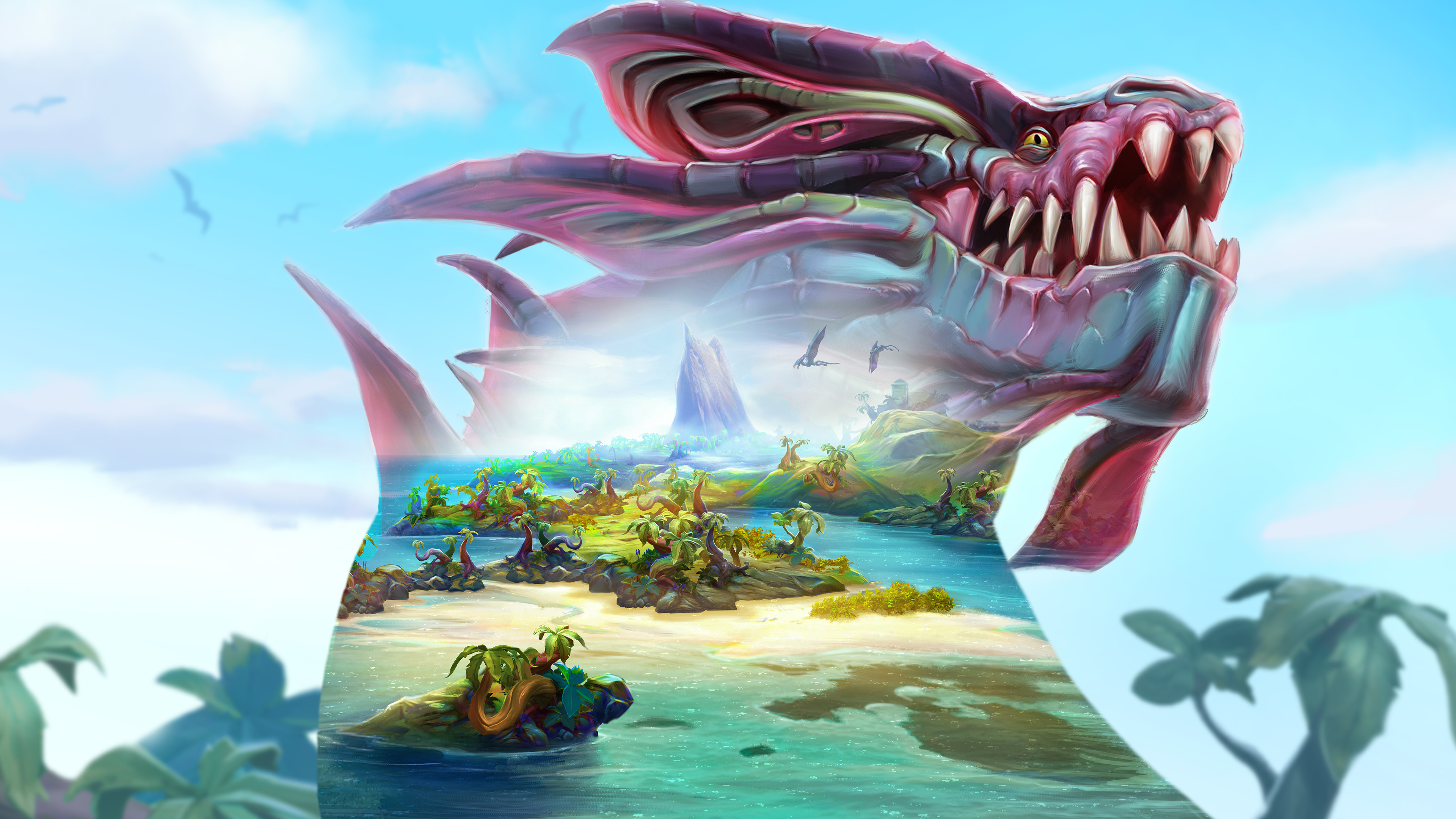 5120x2880 Runescape Dinosaure 5k Wallpaper Hd Games 4k