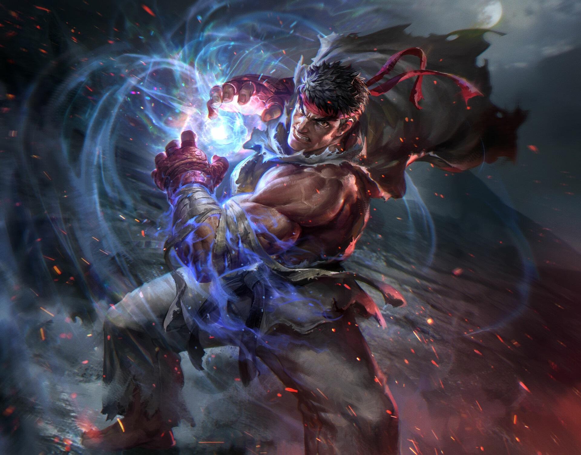 Ryu Street Fighter Wallpaper, HD Games 4K Wallpapers ...