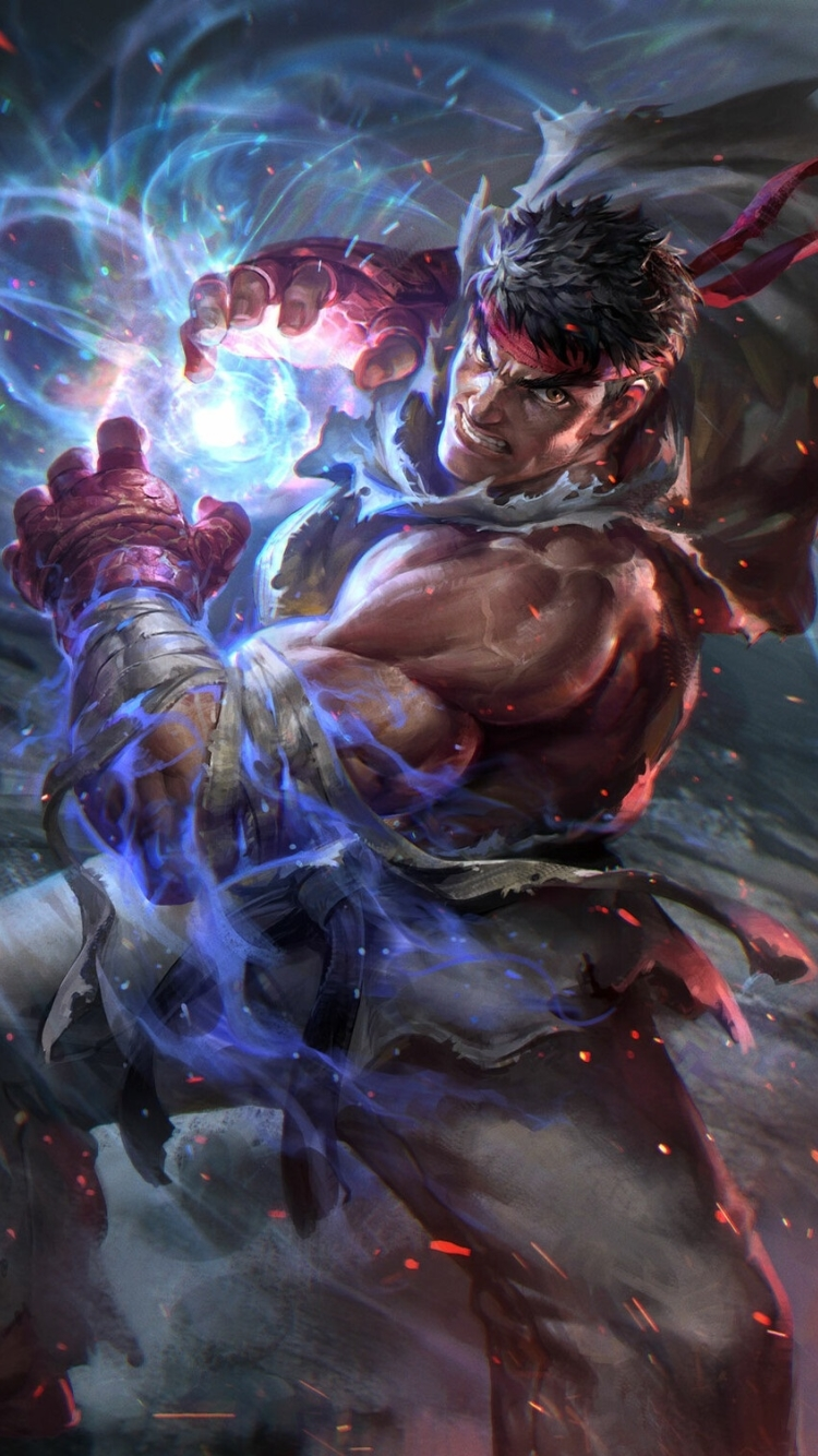750x1334 Ryu Street Fighter Iphone 6 Iphone 6s Iphone 7 Wallpaper Hd Games 4k Wallpapers Images Photos And Background