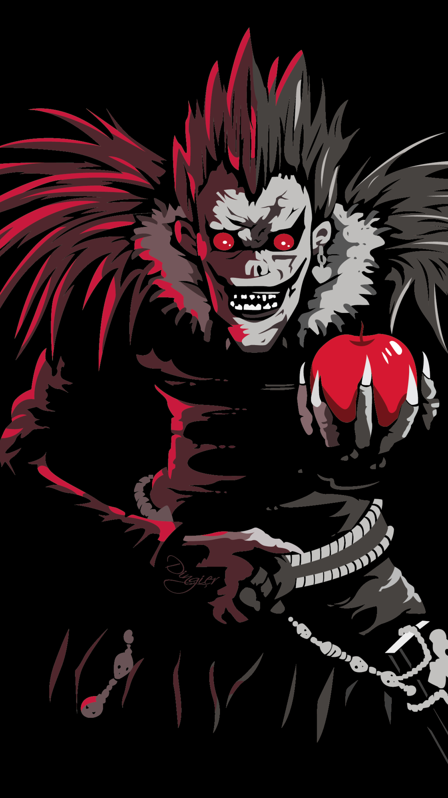 1440x2560 Ryuk In Death Note Samsung Galaxy S6s7google