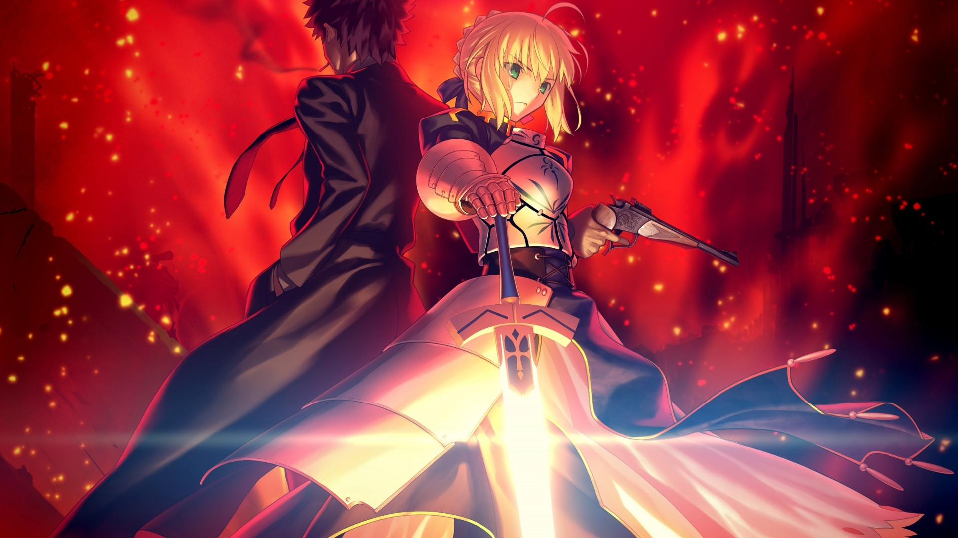 Download Saber Fate Grand Order Series 1280x2120 Resolution Full