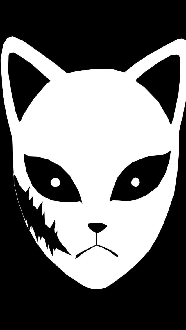 Sabito Mask Wallpaper in 640x1136 Resolution