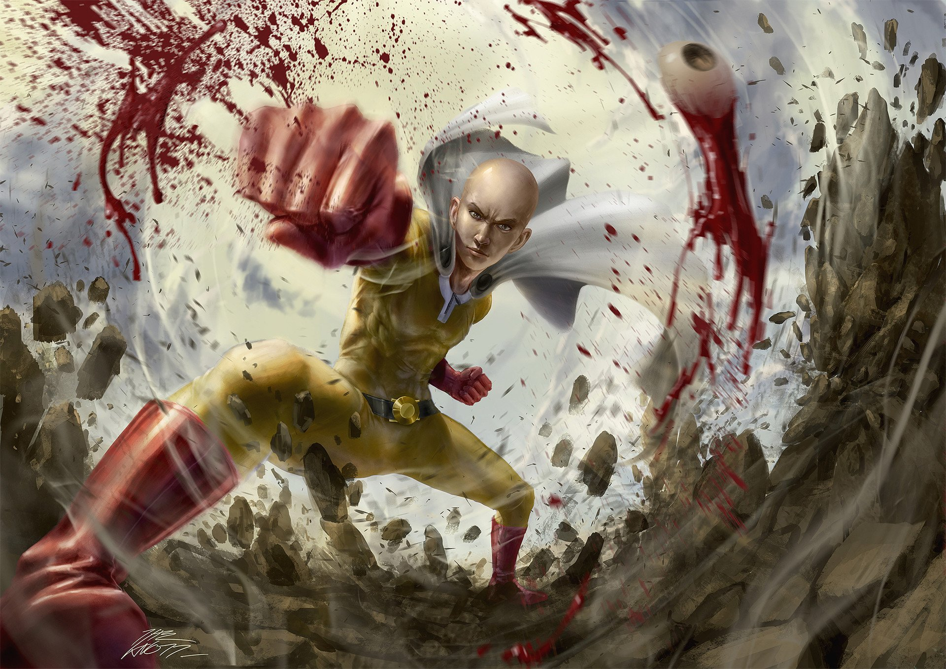 One Punch Saitama Images - Saitama Cool One Punch Man Wallpaper, HD Anime 4K ...