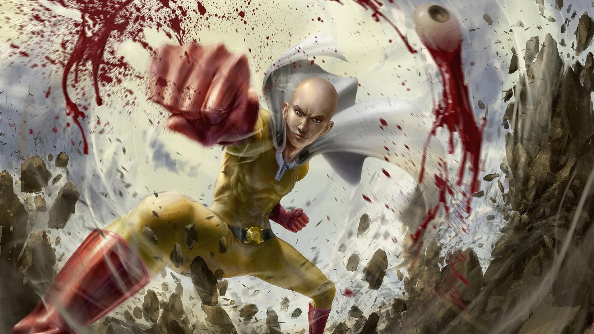 2048x1152 Saitama Cool One Punch Man 2048x1152 Resolution ...