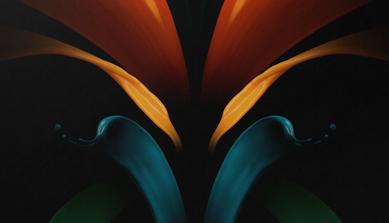 1336x768 Samsung Galaxy Z Fold 2 Hd Laptop Wallpaper Hd Abstract 4k Wallpapers Images Photos And Background