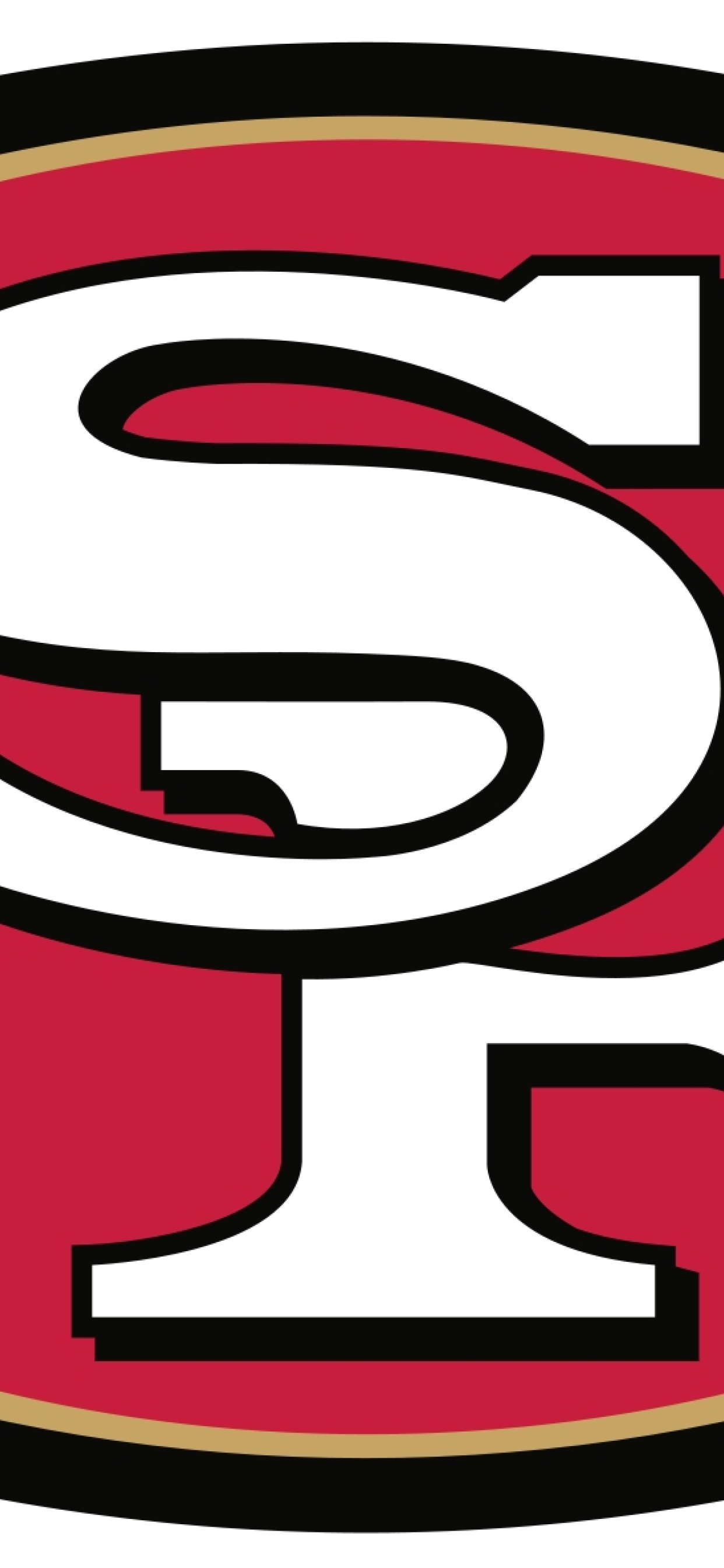 1242x2688 San Francisco 49ers Football Logo Iphone Xs Max Wallpaper Hd Sports 4k Wallpapers Images Photos And Background