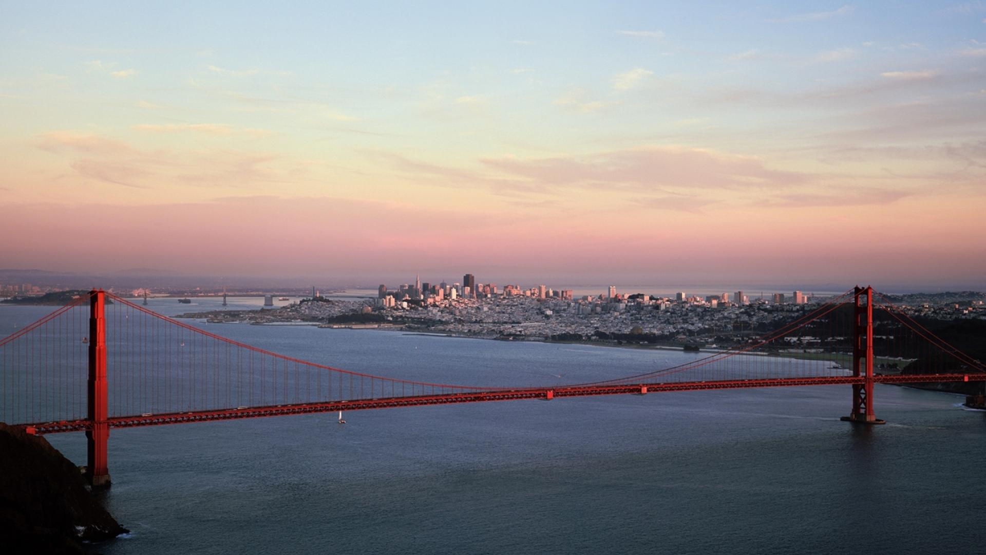 1920x1080 San Francisco Golden Gate Bridge City 1080p Laptop