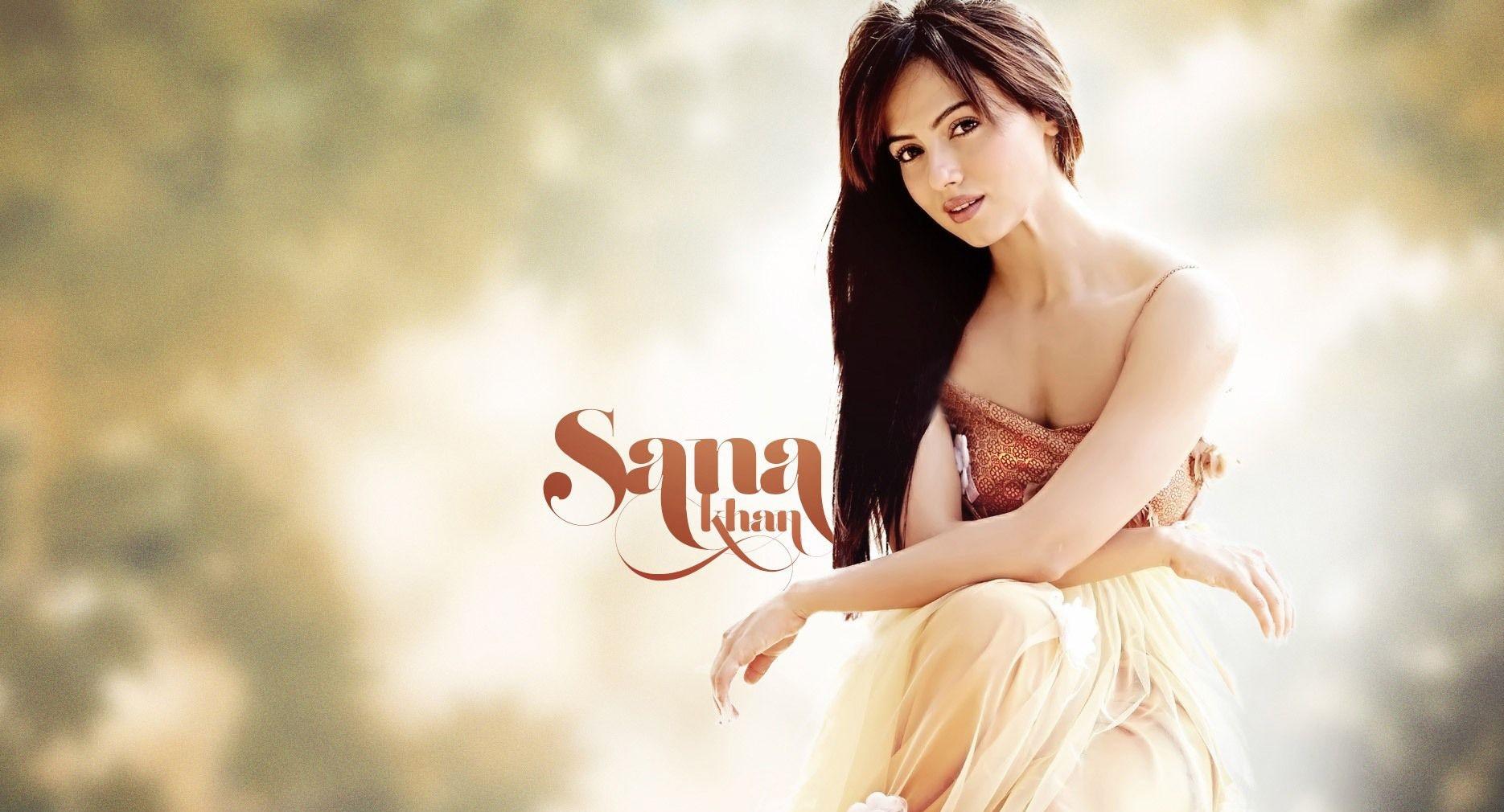 Sana Khan New Gorgeous Wallpaper Wallpaper, HD Indian