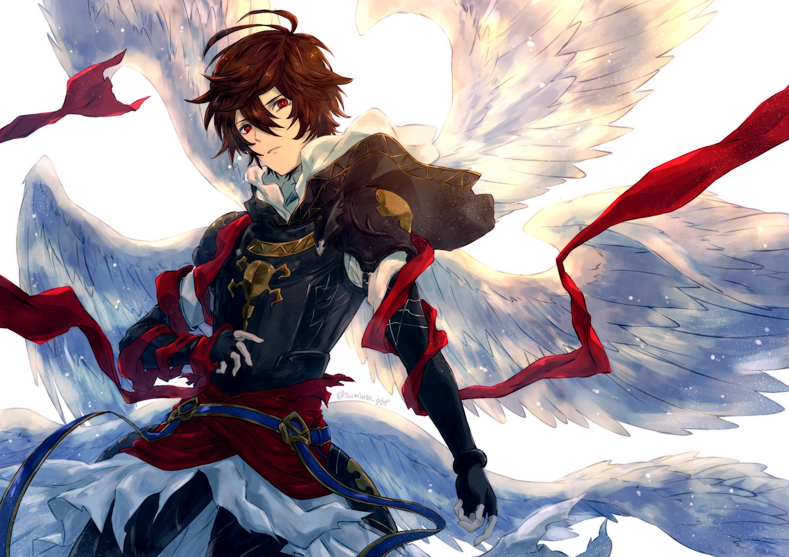 Sandalphon Granblue Fantasy Wallpaper, HD Anime 4K ...