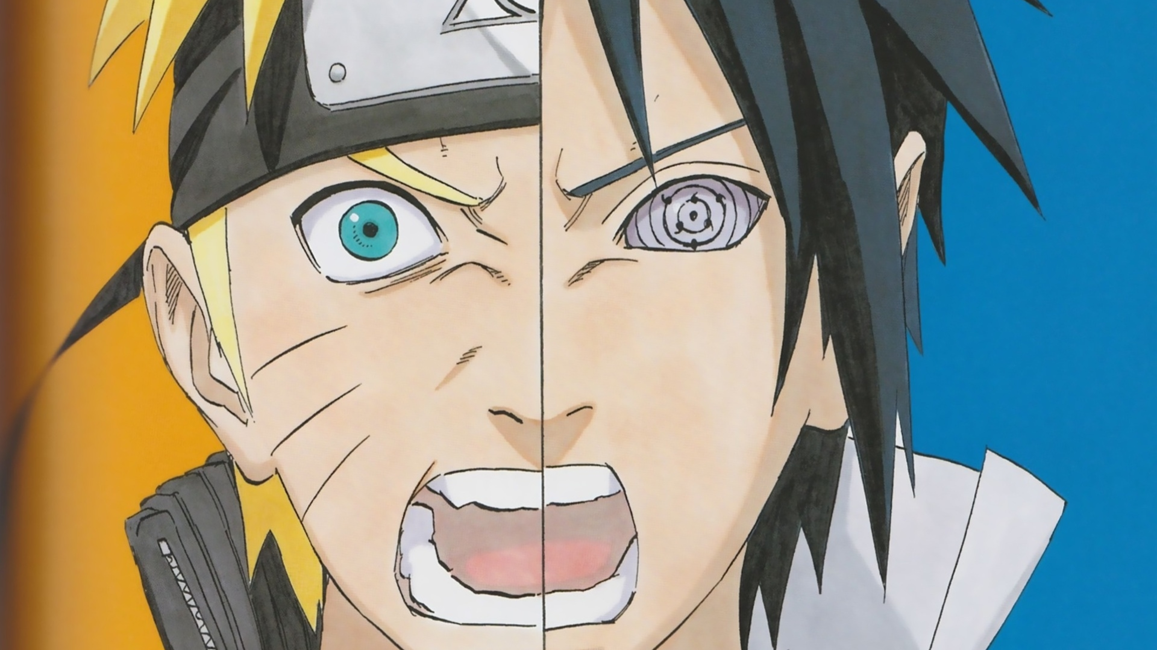 sasuke uchiha and naruto